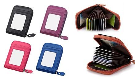 0775df38fb5 1 of 2 AccordionStyle leren portemonnees, kleur naar keuze vanaf € 9.99 tot  69 %