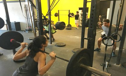 One or Two Months of Unlimited <strong>CrossFit</strong> at <strong>CrossFit</strong> Aviator (Up to 60% Off)