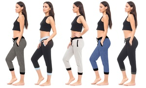 Women's Jogger Capris in Regular and Plus Sizes (5-Pack) at Women's Jogger Capris in Regular and Plus Sizes (5-Pack), plus 6.0% Cash Back from Ebates.