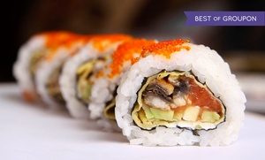 Galanga Thai Kitchen and Sushi Bar: Dinner for Two or More at Galanga Thai Kitchen and Sushi (42% Off)