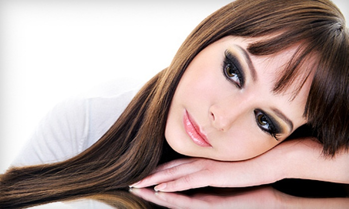 Envy Salon - Vineyard: One or Three Brazilian Blowouts at Envy Salon (Up to 67% Off)