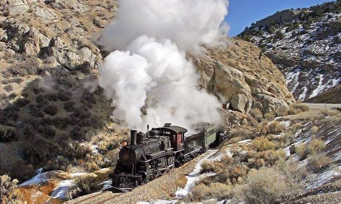 Las Vegas/SouthWest Tours, Inc - The Strip: Steam-Engine Train Ride and Tour for Two or Four from Las Vegas Southwest Tours (Up to 35% Off)