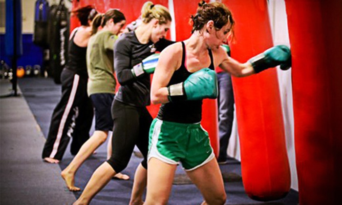 FTF Fitness and Self Defense - Southeast Charlotte: One Month of Unlimited Fitness or Martial-Arts Classes at FTF Fitness and Self Defense (Up to 75% Off)