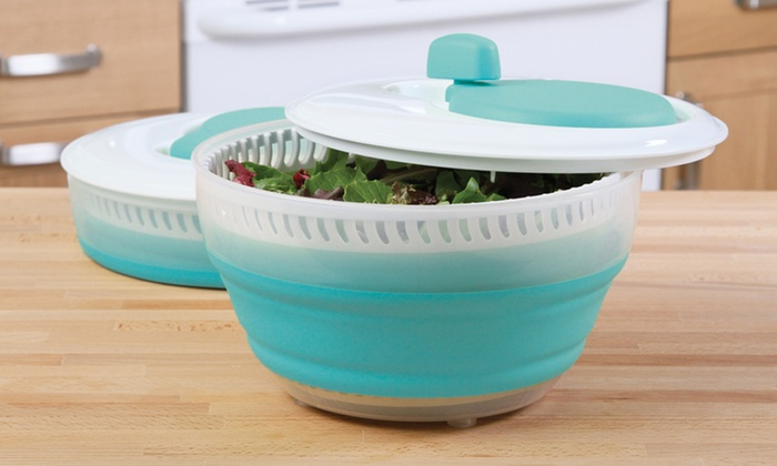 Collapsible Salad Spinner: $12 for a Collapsible Salad Spinner ($22.49 List Price). Free Returns.