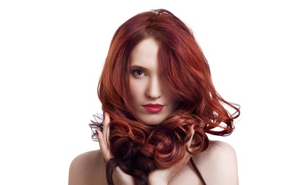 Cut  Color from Elisa Bruns at Junes Unisex Hairstyling and Skin Care (Up to 60% Off). Three Options Available.