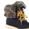 Olivia Miller Ludlow Women's Lace-Up Fur-Trimmed Boots