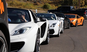 Oxotic Supercar Driving Experience: Canyon Driving Tour in '14 Lamborghini Gallardo Spyder at Oxotic Supercar Driving Experience (Up to 62% Off)