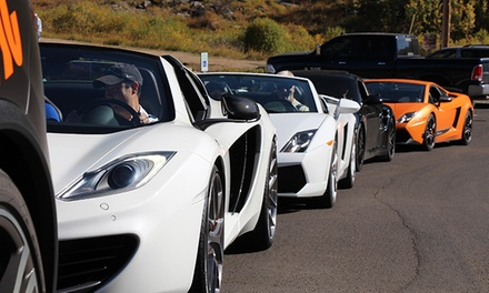 Canyon Driving Tour in '14 Lamborghini Gallardo Spyder at Oxotic Supercar Driving Experience (Up to 62% Off)