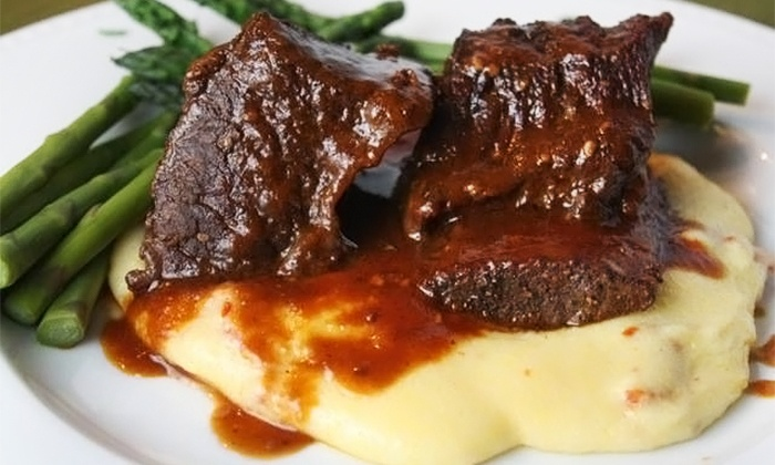 Inglenook Restaurant - Loveland: $35 for a Dinner for Two with a Bottle of Wine at Inglenook Restaurant (Up to a $60.90 Value)