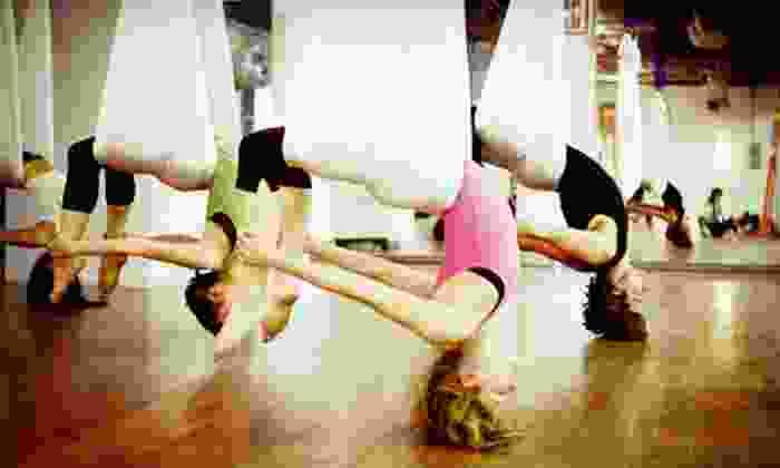 Galaxy Lifestyle - Kearny Mesa: 6 Prenatal Yoga Classes, 5 Aerial Yoga Classes, or 10 Studio Yoga Classes at Galaxy Lifestyle (67% Off)