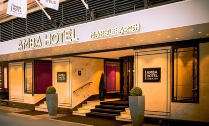 Three or Six Cocktails with Optional Sharing Platter at 4* Amba Hotel Marble Arch (Up to 60% Off)