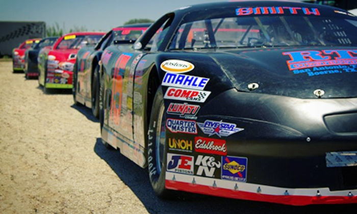 A-Line Night At The Races - Central Texas Speedway: One or Two Tickets to See A-Line Night At The Races at Central Texas Speedway on September 21 (Up to 45% Off)
