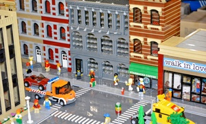 Brick Fest Live LEGO Fan Festival: Brick Fest Live LEGO Fan Festival at Pasadena Convention Center on August 22 or 23 (Up to 32% Off)