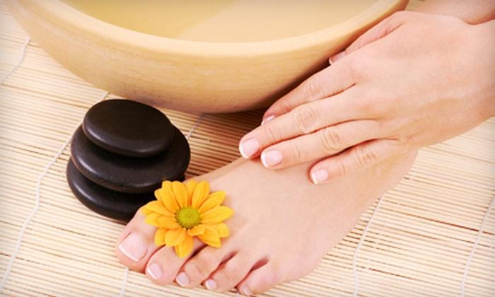 We Treat Feet Spa - Garrison: Pedicure or Mani-Pedi at We Treat Feet Spa (Up to Half Off)