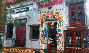 Juanito Mexican Food: Desde $249 por nachos + fajitas + cerveza o gaseosa para doso cuatro en Juanito Mexican Food