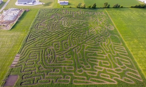 Shipshewana Corn Maze: Admission for Two or Four at Shipshewana Corn Maze (Up to 34% Off)