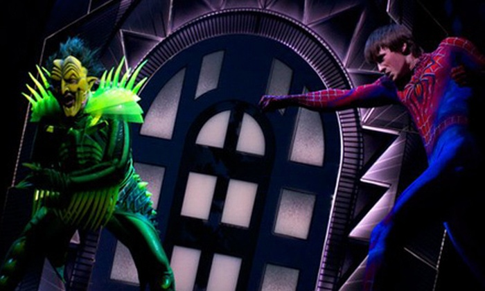 """Spider-Man Turn Off The Dark"" - Theater District - Times Square: ""Spider-Man Turn Off The Dark"" at the Foxwoods Theatre (Up to 44% Off). 40 Options Available."