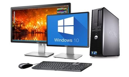 "Dell Optiplex 745/755 reacondicionado con opción a monitor de 22"" y/o antivirus Bullguard (envío gratuito)"