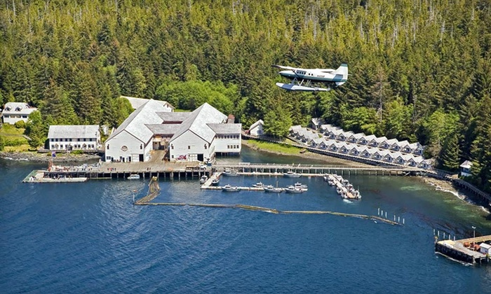 Waterfall Resort Alaska - Ketchikan: 3-Day, 2-Night Fishing Trip with Meals, Accommodations, and Guided Fishing at Waterfall Resort Alaska in Ketchikan, AK