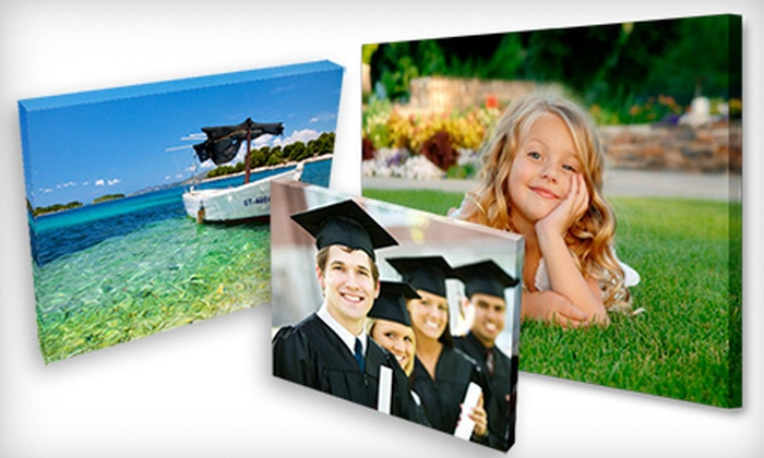 Canvas Print Now: Gallery-Wrapped Canvas Print with Premium Wire Hanger from Canvas Print Now (Up to 68% Off). Three Sizes Available.