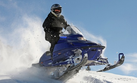 Snowmobile Rental for Two with Optional Snowshoe Rental at Blue Mountain Activities (Up to 48% Off)
