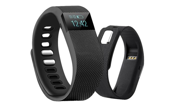 Bracelet sport connecté Bluetooth, 4 coloris au choix, à 19.99€ (75% de réduction)
