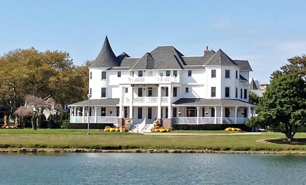 Stay at The Hewitt Wellington in Spring Lake, NJ. Dates into July.