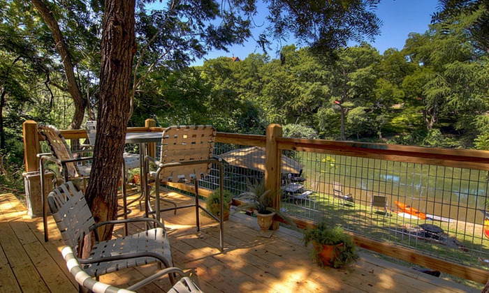 River Road Treehouses In New Braunfels Tx