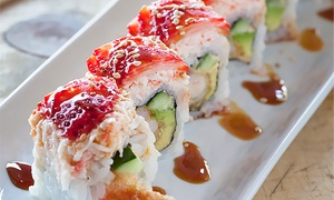 Sushi World: $12 for $20 Worth of Sushi and Japanese Cuisine for two or more at Sushi World