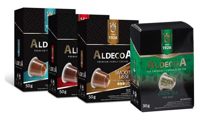 coffee tea sets 40 or 50ct groupon goods. Black Bedroom Furniture Sets. Home Design Ideas