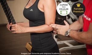 Academia Forma Física: Academia Forma Física – Sagrada Família:3, 6 ou 12 meses de academia com musculação e ginástica
