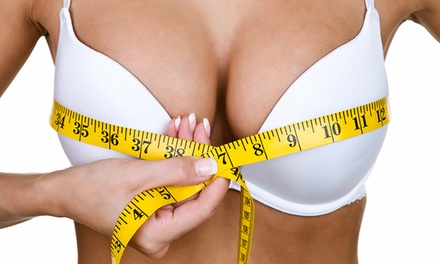 $4,995 for Saline or Silicone Breast Augmentation at Aesthetic Rejuvenation by Dr. Brecht ($8,500 Value)