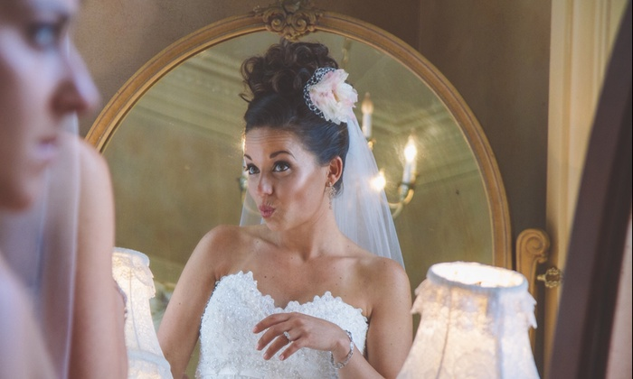 QB & Co - Kensington: Bridal and Special-Occasion Hair and Makeup Packages at QB & Co. (Up to 67% Off). Three Options Available.