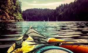 Brentwood Bay Resort & Spa - Leisure Offers: Double Kayak Rental or Stand-Up Paddleboard Rental for Two or Four Brentwood Bay Resort & Spa (Up to 50% Off)