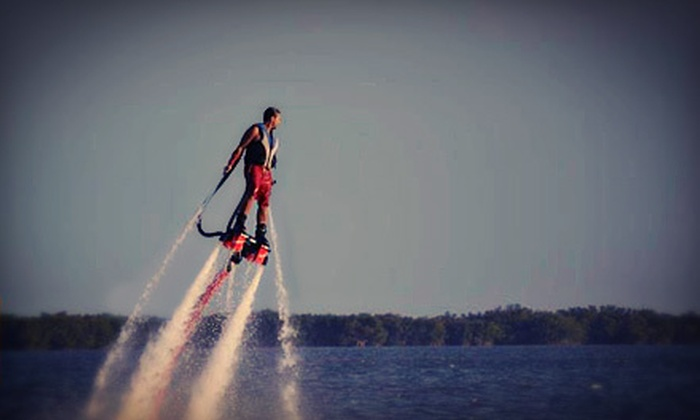 Jump Right In Flyboarding - Flyboarding in Merritt Island: 30-Minute Flyboard Flight for One or Two from Jump Right In Flyboarding (Up to 53% Off)