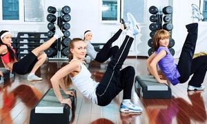 California Fitness: 5 ou 10 pass pour cours collectifs et salle de musculation dès 19,99 € chez California Fitness