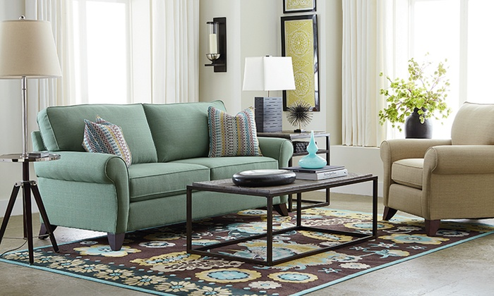 Bassett Furniture Tyson Love Seat, Sofa, Or Sleeper Sofa ...