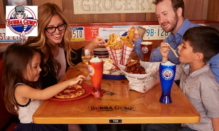 One $50 or $100 eGift Card Toward Carry-Out or Dine-In at Bubba Gump Shrimp Co.  (Up to 15% Off)