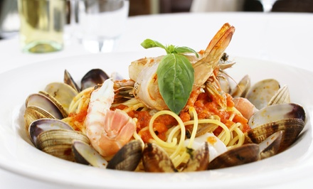 Italian Meal for Two or Four with Appetizers and Fountain Drinks (Up to 56% Off)