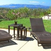 Lakeport Outdoor Tables and Adjustable Chaise Lounge Set (5-Piece)