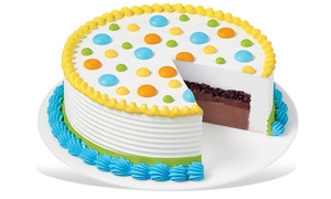 Dairy Queen: Eight- or Ten-Inch Ice Cream Cake at Dairy Queen (Up to 50% Off)