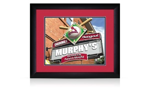 Prints That Rock: Custom Pub Print in a Standard or Premium Frame from Prints That Rock (Up to 44% Off)