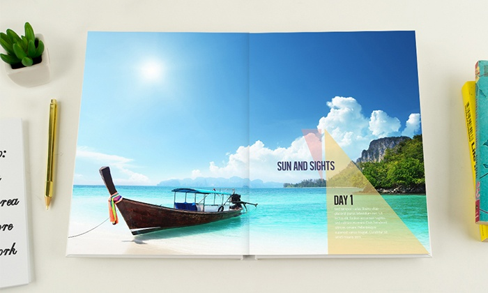 24-Page Personalized Photobook from Photobook Canada (Up to 88% Off)
