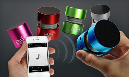 groupon daily deal - BassBoomz Portable Bluetooth Speaker. Multiple Colors Available. Free Returns.