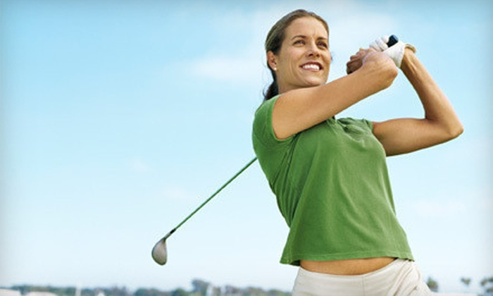Shady Oaks Golf Club - Northeast,Wetmore: $25 for a Nine-Hole Golf Outing with Five Medium Buckets of Range Balls at Shady Oaks Golf Club ($55 Value)