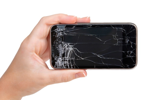 uBreakiFix - Downtown: Glass Screen Repair for iPhone or iPad at uBreakiFix (Up to 50% Off). Four Options Available