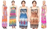 Printed Maxi and Knee-Length Summer Dresses: Printed Maxi and Knee-Length Summer Dresses