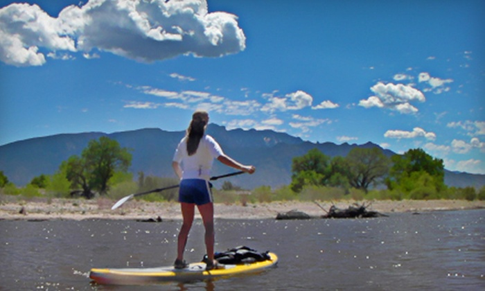 SouthWest WindSports - Multiple Locations: Intro-to-Paddleboarding Course or a Half-Day Paddleboarding Program from SouthWest WindSports (Up to 53% Off)