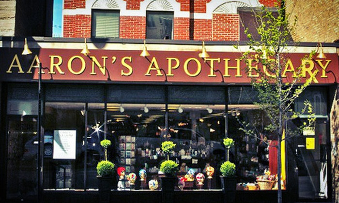 Aaron's Apothecary - Lincoln Park: Luxury Home and Beauty Products or Fragrances at Aaron's Apothecary (Up to Half Off). Three Options Available.