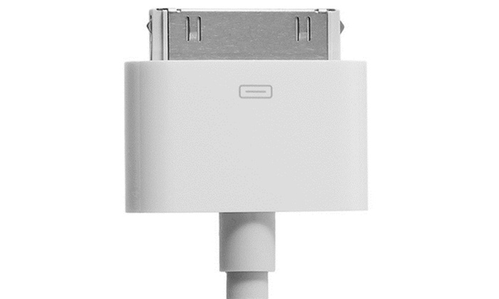 apple 30 pin dock connector to vga adapter groupon. Black Bedroom Furniture Sets. Home Design Ideas